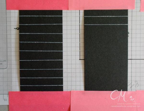 Grußkarte zum Schulanfang mit selbstgemachtem Designerpapier, Eulenstanze von Stampin' Up! #CarosBastelbude #stampinup carosbastelbude.de