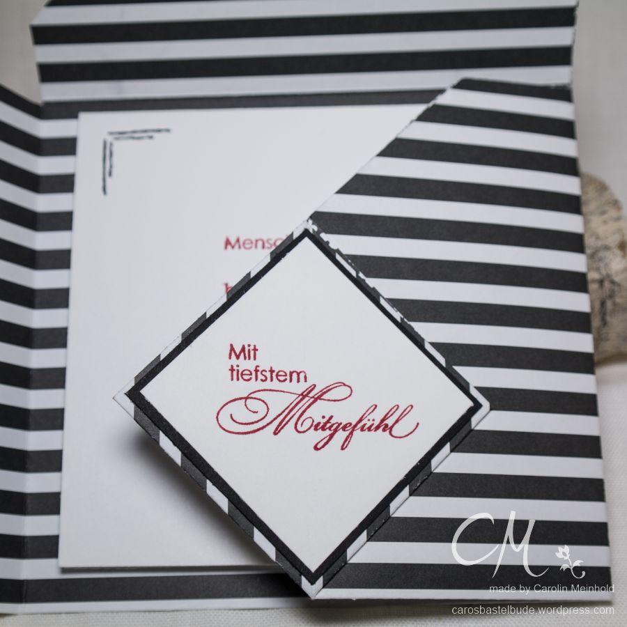 """Minialbum aus einem 11"""" x 11"""" Bogen DSP #CarosBastelbude"""