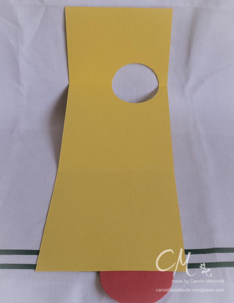 Besondere Kartenform, Fun Fold Card nach einer Idee von Patt'y Stamping Spot CarosBastelbude
