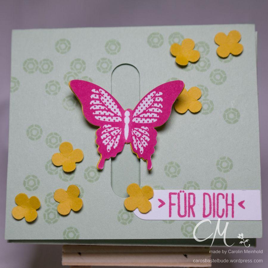 Osterverpackung für Teebeutel oder Rittersport Mini #CarosBastelbude carosbastelbude.de