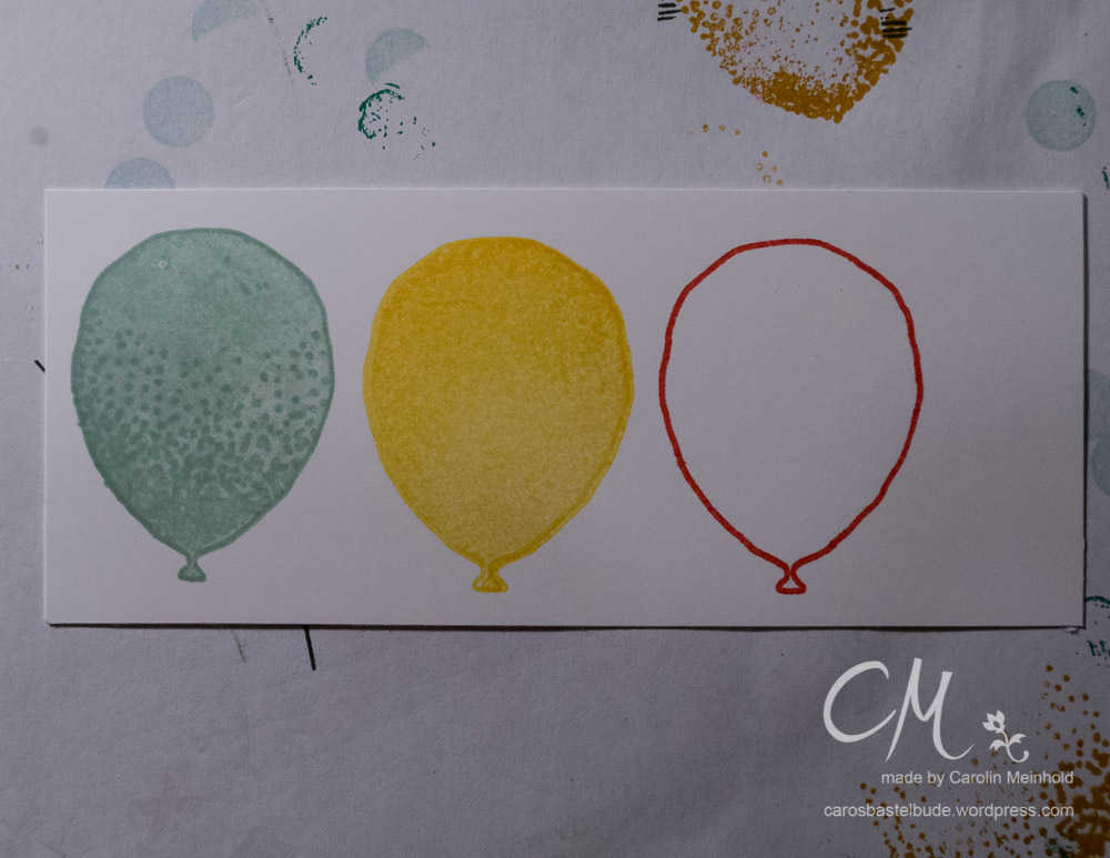2-5-7-10 Box mit Luftballon-Verschluss #CarosBastelbude