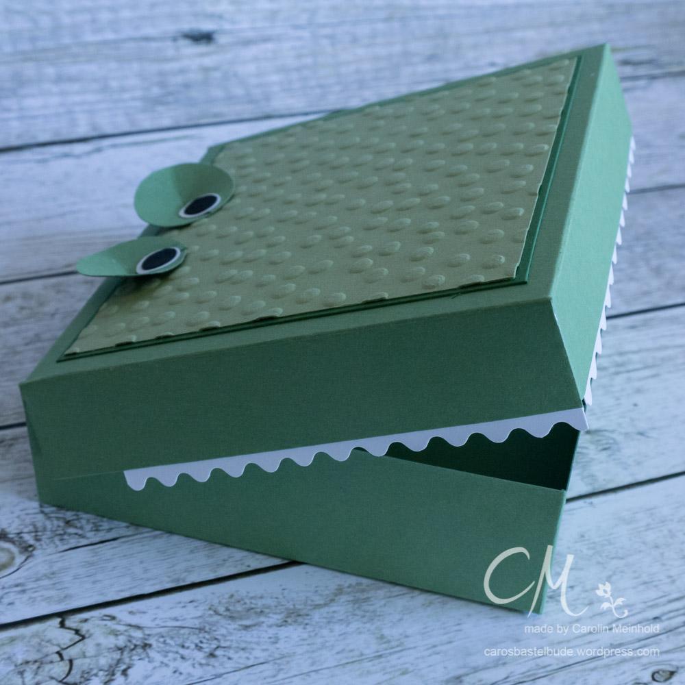 Krokodilbox #CarosBastelbude